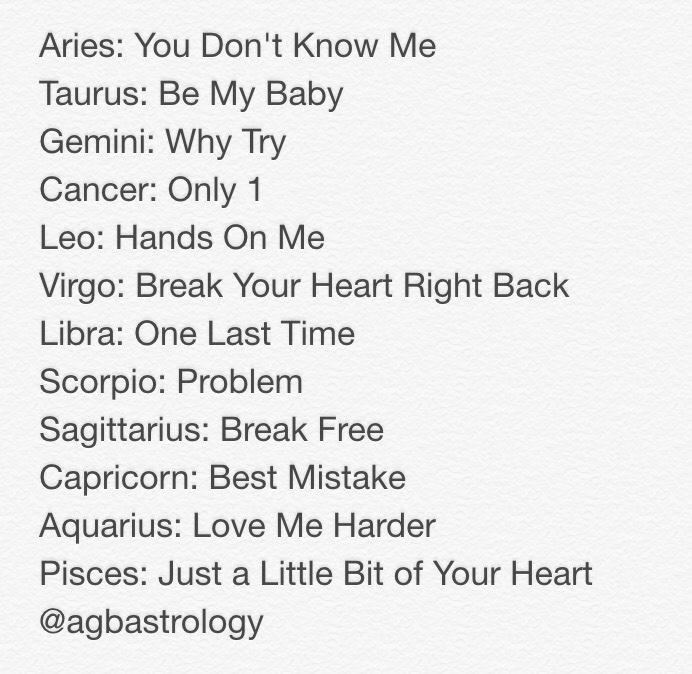 Songs like break your heart