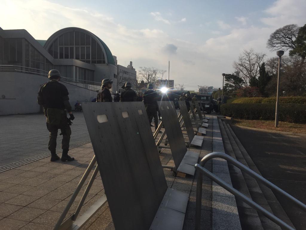 北九州ロケの写真です☆(2号) #図書館戦争 pic.twitter.com/loMEDoEKwP