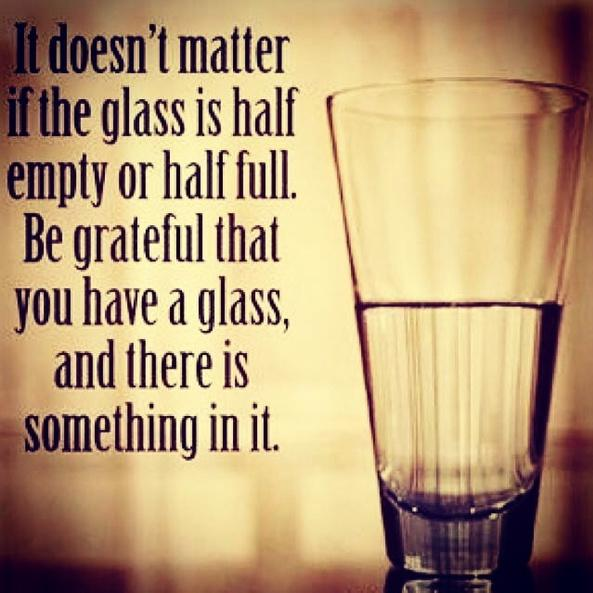 It doesn't matter if the glass is half empty or half full.... http://t.co/8wG0eVzCj7