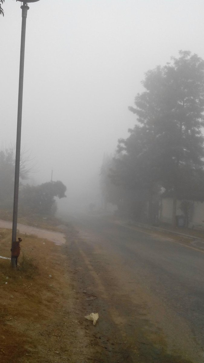 A huge fogggg today in Islamabad. http://t.co/FUr861ohet