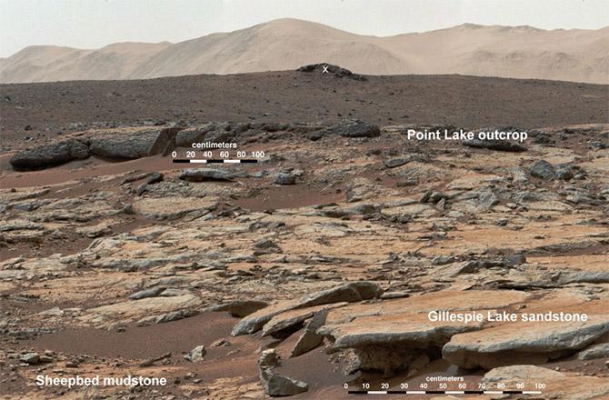 Fossili sul pianeta Marte, le foto inviate da Curiosity