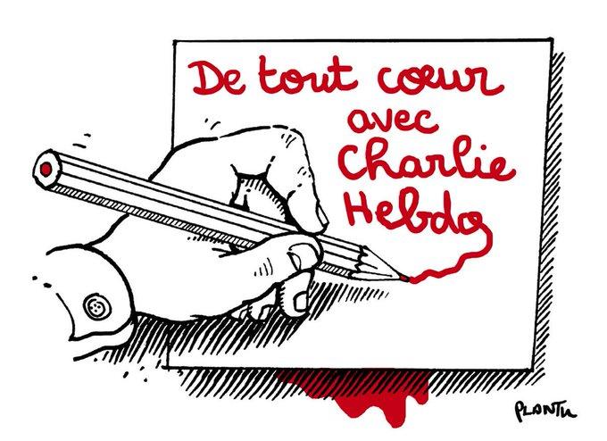 De tout coeur avec Charlie Hebdo. http://t.co/8KwTipn3Wp