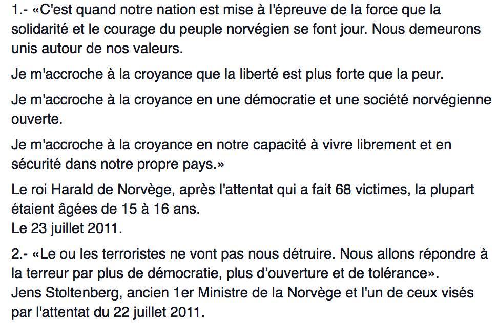 Toi, oui toi qui qui serais tenté de répondre à la haine par plus de bêtise, lis ceci. #CharlieHebdo #Resilience http://t.co/Ju3qn0Gvnj