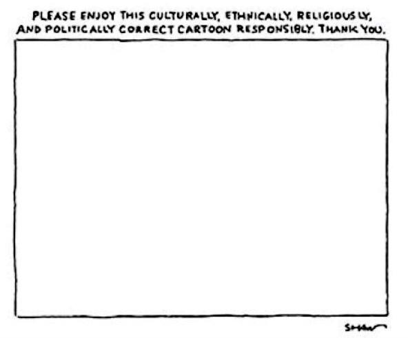 Contra la barbarie, la inteligencia de @Shawtooner en @NewYorker. Esta viñeta es de 2006. #JeSuisCharlie http://t.co/q7OjdjbE6V