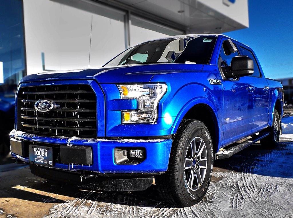 How Gorgeous Is This Blue Flame Metallic 2017 Fordcanada F 150 Xlt 4x4 Ford Fans Yeg Ymm Shpk Niskupic Twitter Pjawzhh3gj