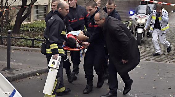 هجوم على صحيفة شارلي ايبدو الفرنسية