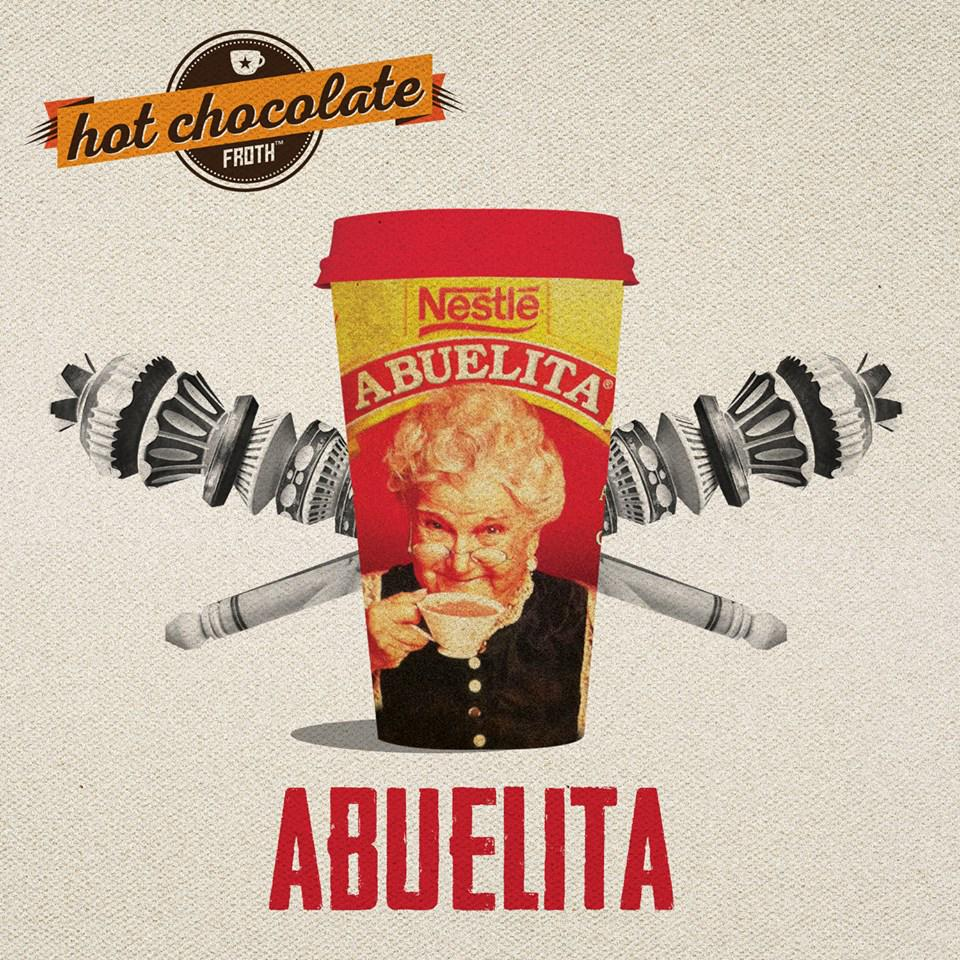 Freezing?? Warm up at Forever Yogurt with our Hot Chocolate made with Nestlé Abuelita! http://t.co/U0LKNgfE8P
