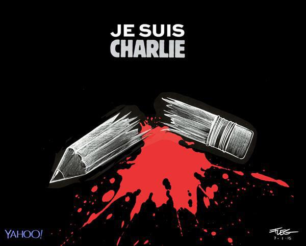 Thumbnail for Cartoonists respond to the killings at 'Charlie Hebdo'