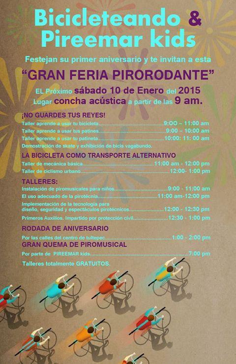 @BicitlanRadio  Que tal mi estimado, te dejo aquí una invitación, es nuestro aniversario de Bicicleteando Tultepec. http://t.co/ofo6H9CG5P