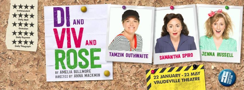 RT @LSBO: Book for @DiVivandRose with @mouthwaite @Samanthaspiro & @jennarusselluk! Tkts from £16.50: http://t.co/qXd0XSvUTE! http://t.co/b…