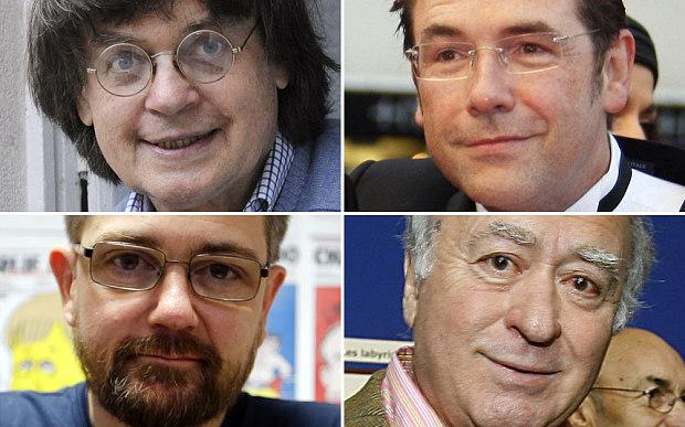 "R.I.P.  ""@Telegraph: The cartoonists who were killed in the attack on #CharlieHebdo http://t.co/yXrpjnHzh2 http://t.co/TguksS1Iq3"""
