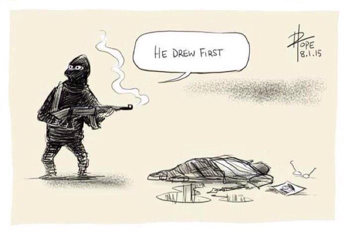 Thumbnail for Story of #CharlieHebdo Massacre through my Twitter timeline... #JeSuisCharlie