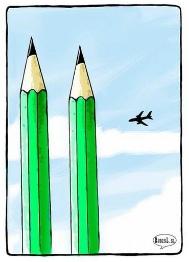 Ce dessin du néerlandais @RLOppenheimer ou l'art d'exprimer la synthèse, les enjeux et le choc #charliehebdo http://t.co/SDePoh8j1Y