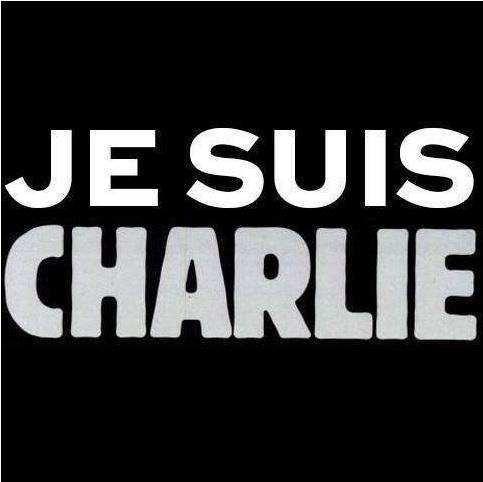 The #CharlieHebdo website is back online with this, and only this, image after 12 people were killed at the magazine http://t.co/BzorAH29ZG
