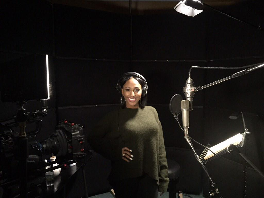 I'm back at @AbbeyRoad !! Cooking up something special for @TheBodyguardUK !! 😘 http://t.co/JnuiBEVQ7L