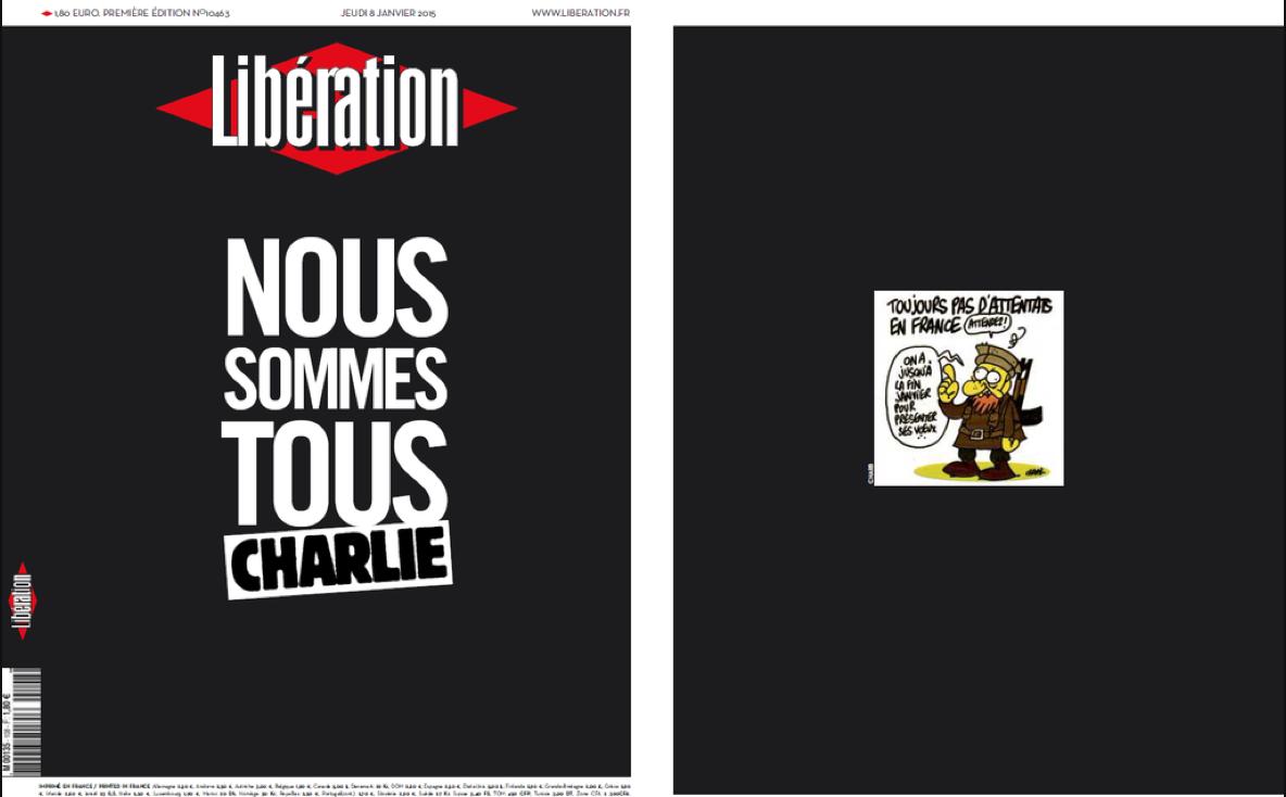 Liberation gazetesinin birinci sayfası http://t.co/XqVBE5w8FX
