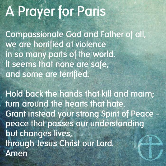 A prayer for Paris #PrayersForParis #JeSuisCharlie #CharlieHebdo http://t.co/PLOnQDmjSz