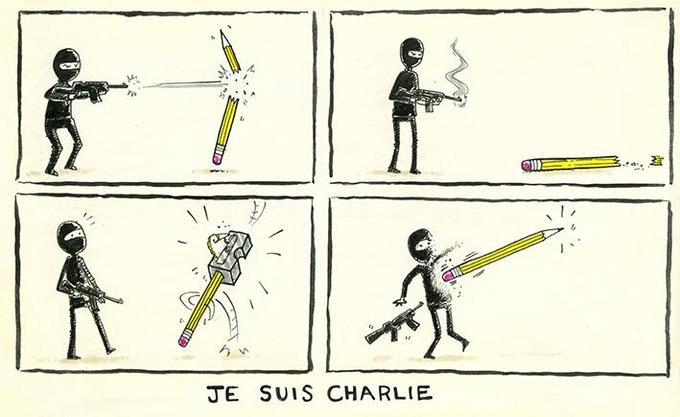 RT @AndrewBloch: Perhaps the best #JeSuisCharlie cartoon yet... http://t.co/KprI1vRQco