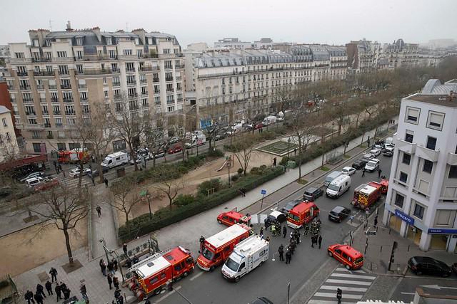 Strage Charlie Hebdo a Parigi