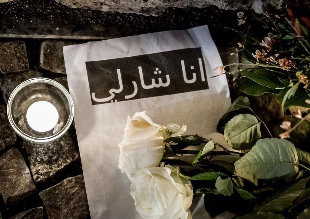 #JeSuisCharlie en arabe: #اناثارلى via @stiichment http://t.co/OsxAuZ3n8r http://t.co/APqbg9D4Ud