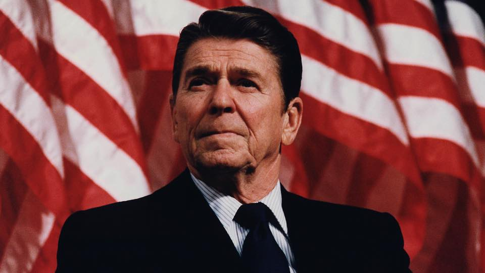 ronald reagan and patriotism In 1980, ronald reagan campaigned for the presidency on a platform that included abolishing the us department of education new patriotism.