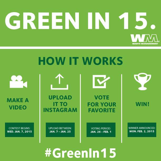 Here's how you can go #Greenin15 http://t.co/3pj75uImxM http://t.co/1ClIiXBeY3