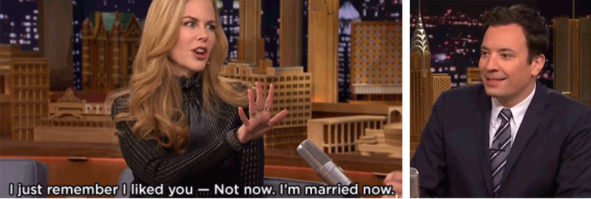 Jimmy Fallon dating Nicole Kidman
