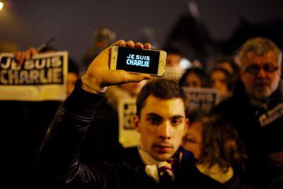 Parigi Je suis Charlie