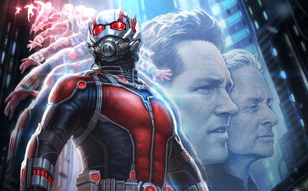 Cinema: Ant-Man L'uomo formica con Paul Rudd e Evangeline Lilly,