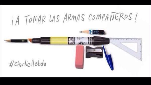 Charlie Hebdo: raduno #JeSuisCharlies a Parigi