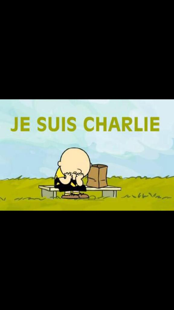 Charlie Brown #CharlieHebdo http://t.co/qpG3EXjhVT