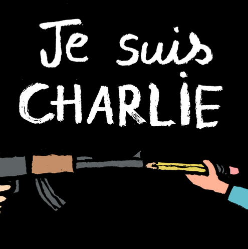 What a tremendous loss. A free press is our greatest weapon against tyranny, home and abroad. #JeSuisCharlie http://t.co/QTytTkGT4b