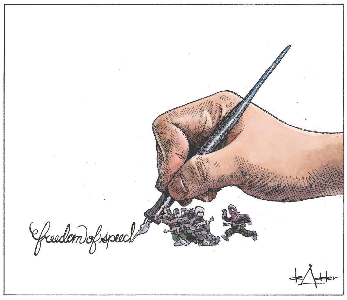 Cartoon on #CharlieHebdo #JeSuisCharlie #cdnpoli #cartoonists #nspoli http://t.co/VvGDifANCV