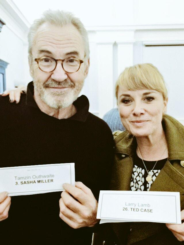 RT @NewTricksTV: Top notch script read-through today, but @mouthwaite & @larrylamb47 seemed a bit confused about their characters... http:/…