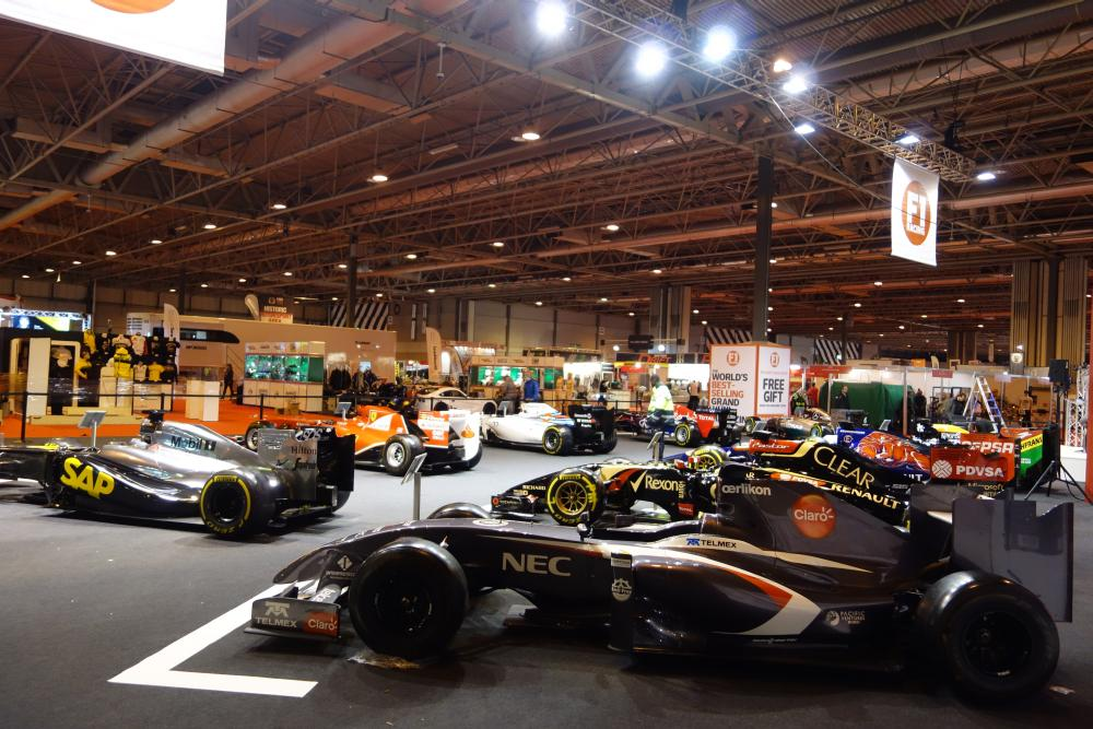 The @F1Racing_mag Grid is looking mighty fine! #ASI15 http://t.co/hmIPVcXGvb