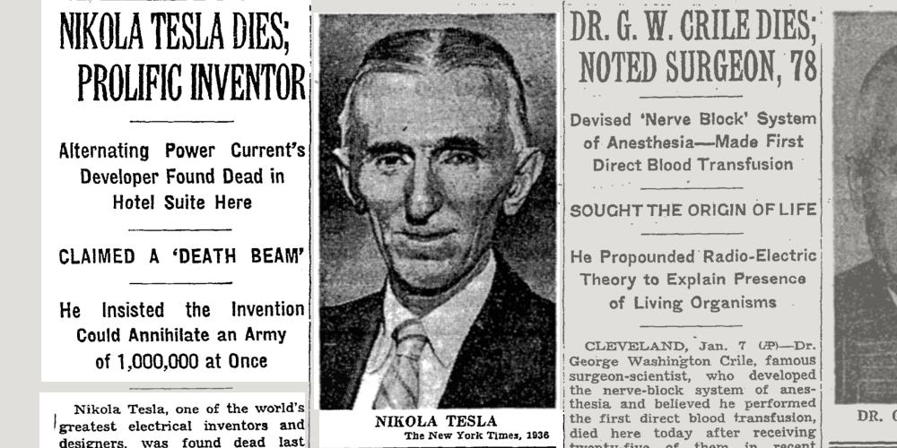 Nyt Archives On Twitter Quot Nikola Tesla Pioneering