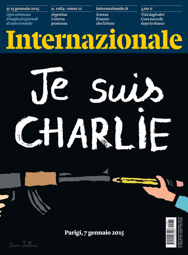 La copertina di Internazionale che esce venerdì. #CharlieHebdo #JeSuisCharlie http://t.co/76rFDr0qCl http://t.co/THcAxZKSpF