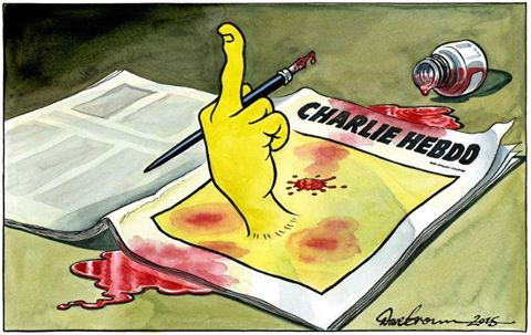Sometimes a picture says it better than any writer could. #CharlieHebdo http://t.co/OP6h1YZUWs