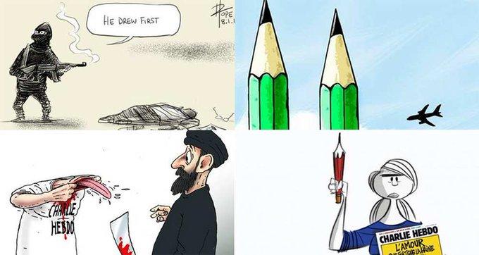 #CharlieHebdo : les dessinateurs du monde entier se mobilisent >> http://t.co/yywNIf6IC9 http://t.co/h88CPenFWs