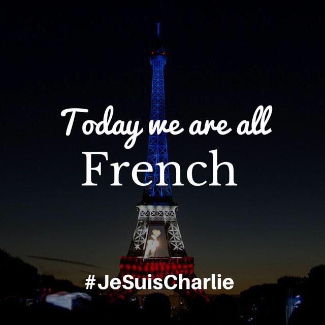 "John Kelleher on Twitter: ""Today we are all French. #JeSuisCharlie http://t.co/KBk7GnIDcl"" http://t.co/yqOBnLa0Pc"