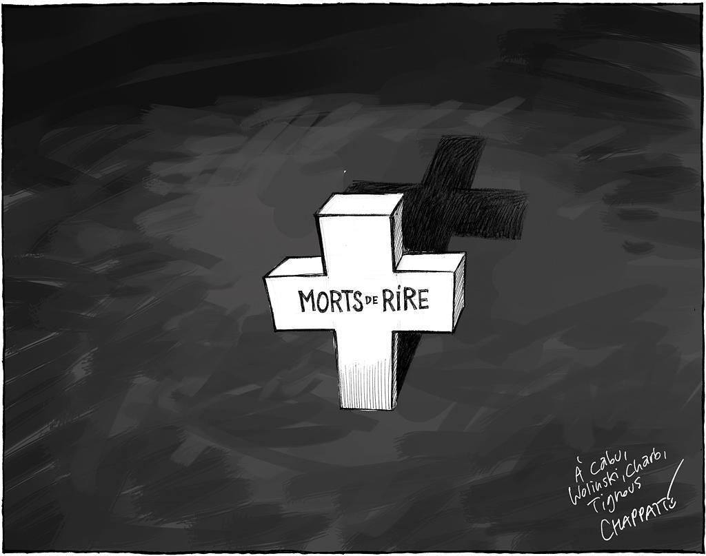 Massacre de #CharlieHebdo dans le Temps, Genève http://t.co/AZURdAulTr