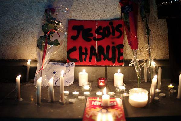 The Support of the people of #Belgrade #Serbia to France #JeSuisCharlie