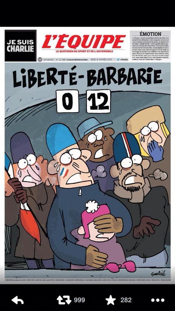Portadón de L'Equipe. http://t.co/LBzRGfmCK6