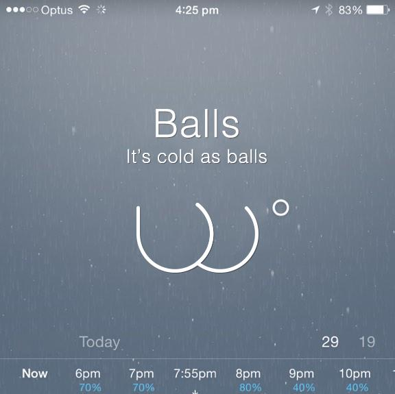 Current weather… http://t.co/2RSgOgOhdI