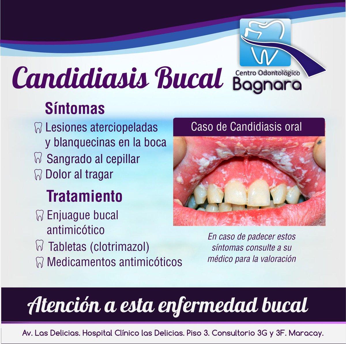 medicamento para candidiasis oral bebes