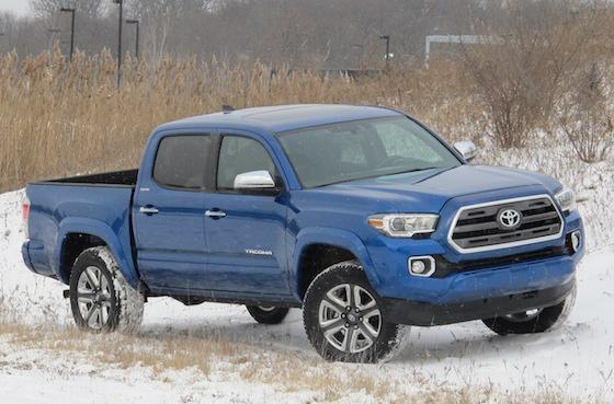 The 2016 Toyota Tacoma Limited looks like an evolution, but there's revolution in the air. http://t.co/tm0pEJGhuF http://t.co/mcBjqCy1r5