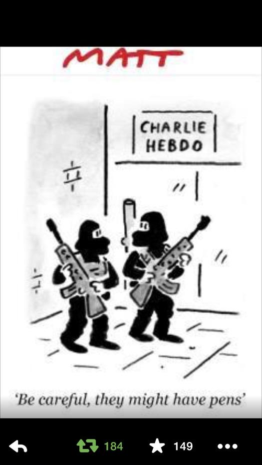 Matt is always good. But today he feels Profoundly good. This moved me hugely. Because he is a Cartoonist. http://t.co/kPWDSIyasq