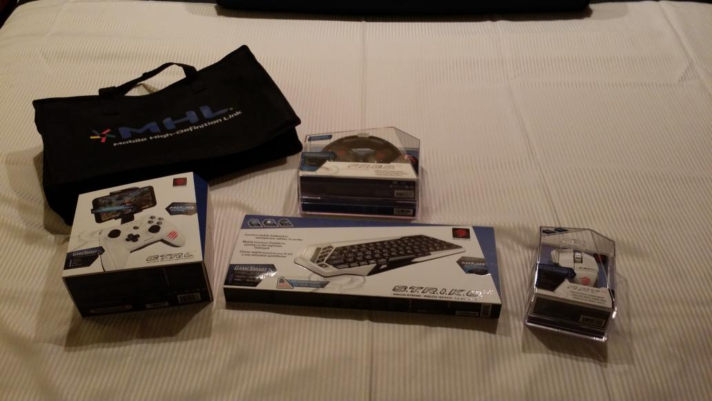 Winnings from CES 2015 scavenger hunt