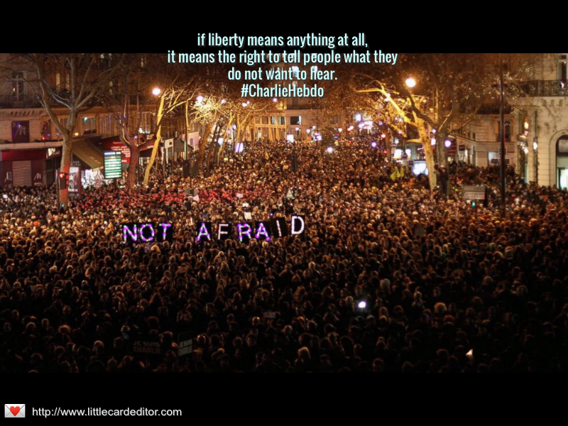 if liberty means anything at all,it means the right to tell people what theydo not want to hear.#CharlieHebdo http://t.co/kk94SQvZ1L