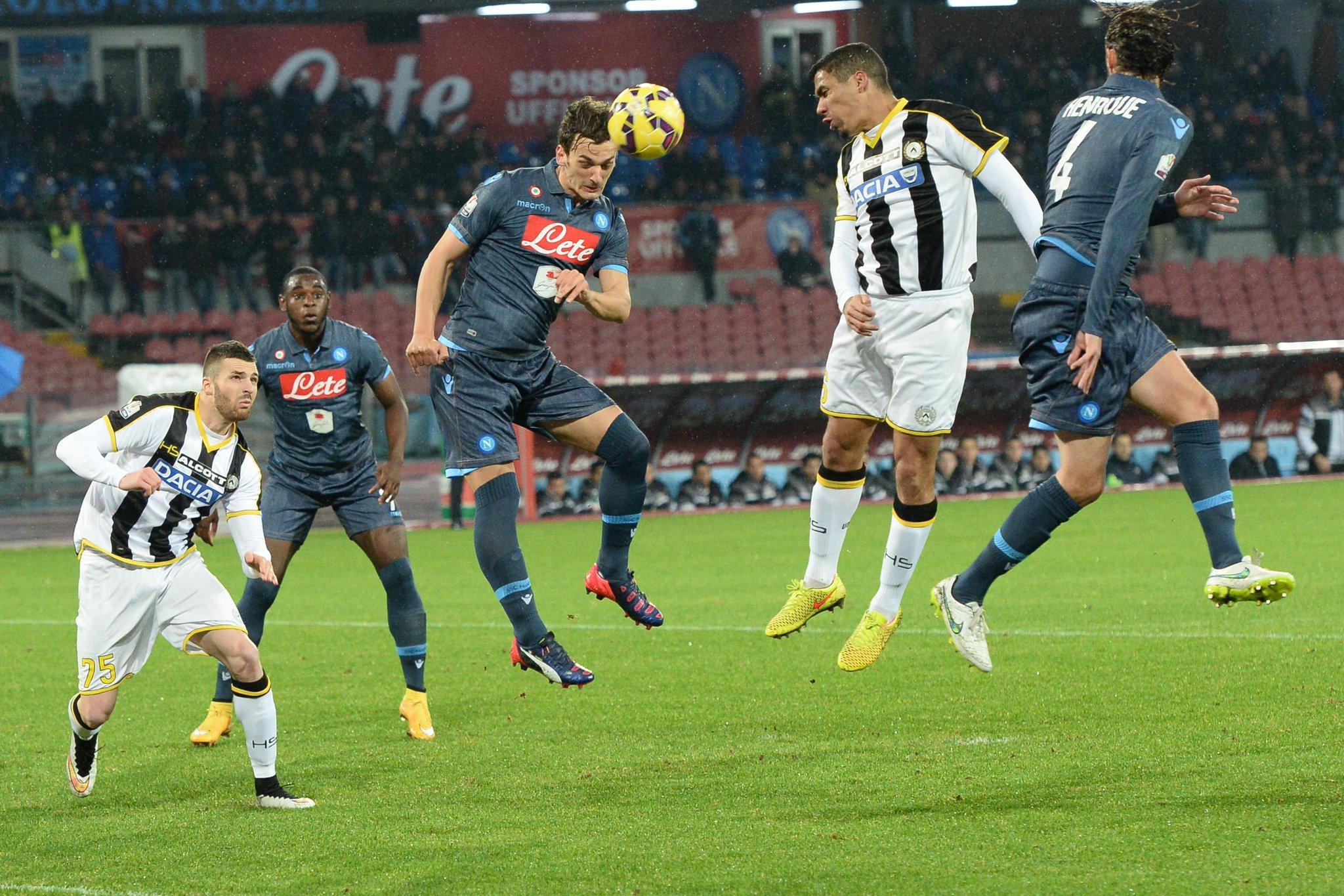 Video Gol Napoli-Udinese: Risultato in DIRETTA Live calcio in tempo reale, ottavo Coppa italia